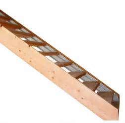 Stringers On Stairs by Wood Finished Stair Stringers By Fast Stairs Com