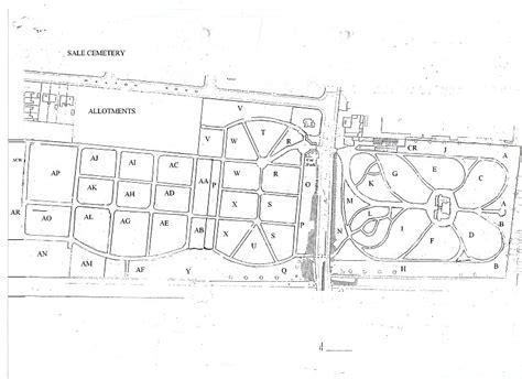 sle of w2 sale brooklands cemetery plan