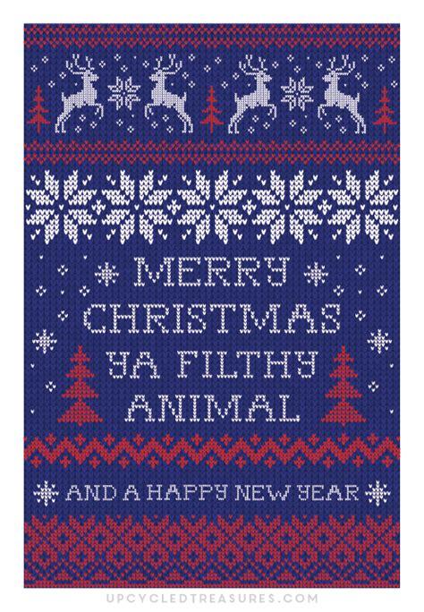 printable christmas cards upcycledtreasurescom