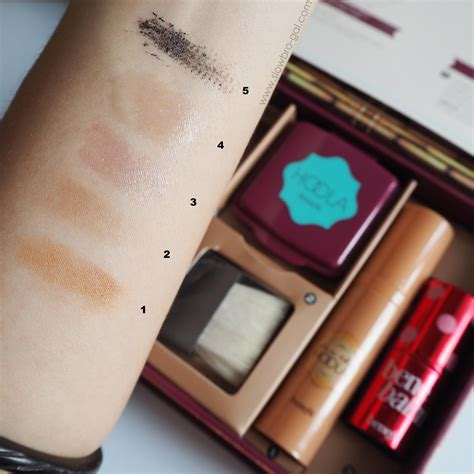 Try Before You Buy Part Iiifoundation Conceal 3 by Review Swatches Benefit Do The Hoola Beyond Bronze Kit
