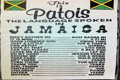 pidgin patois slang dialect creole has more