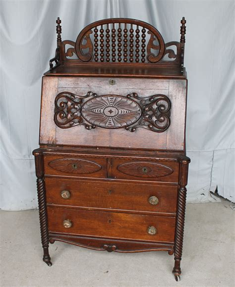 antique ladies secretary desk bargain john s antiques 187 blog archive antique oak drop
