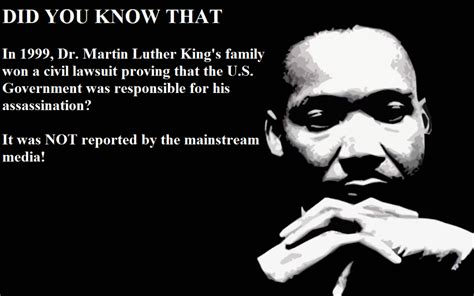 how the government killed martin luther king jr us government found guilty of murdering martin luther king