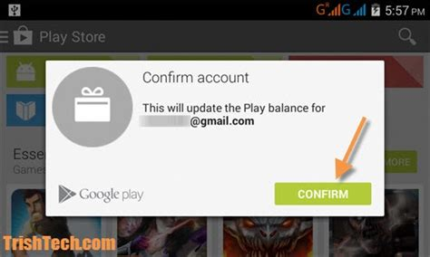 Google Play Gift Card Coupon - how to redeem google play gift coupons in android