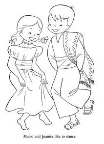 mexico coloring pages josefina unit study america s southwest frontier