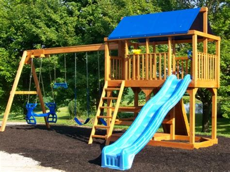 swing sets columbus ohio quality built sheds garages cabins playhouses swingsets