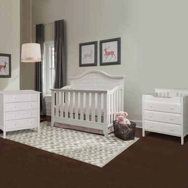 White Crib And Changing Table Set Thomasville Southern Dunes 3 Nursery Set Lifestyle Crib 3 Drawer Changing Table