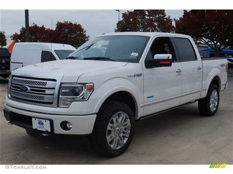 2014 ford f150 4x4 2014 white platinum ford f150 platinum supercrew 4x4