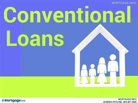 conventional loans mortgage info