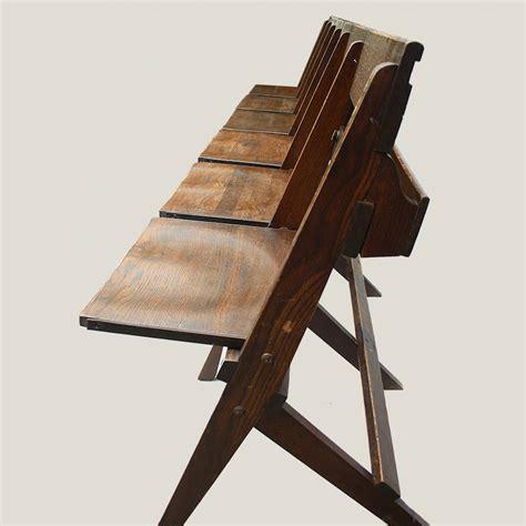 church pew furniture restorer vintage folding church pew vintage matters