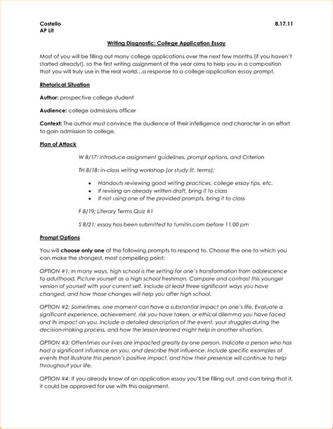 College Essay Format Exle by Format For College Essay College Application Essay Jpg Loan Application Form