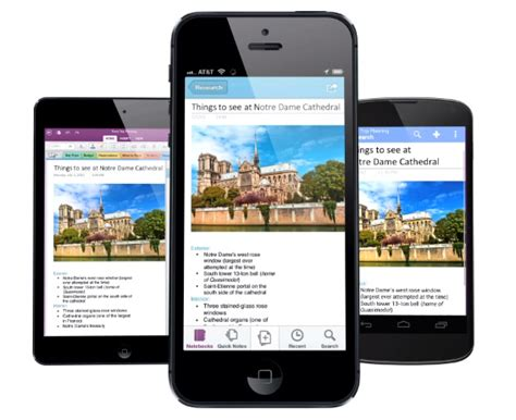 onenote app for android microsoft onenote for android iphone and updated with new features