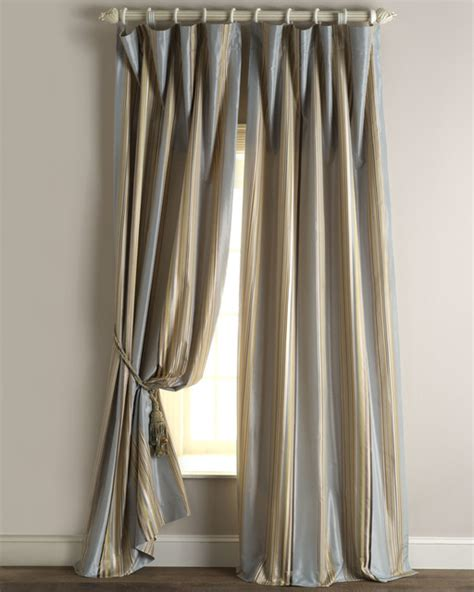 Sienna Curtain 96 Quot L Contemporary Curtains By Horchow