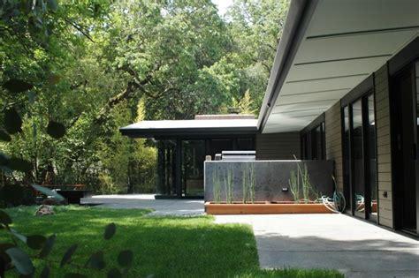 mid century modern eichler esque remodel patio