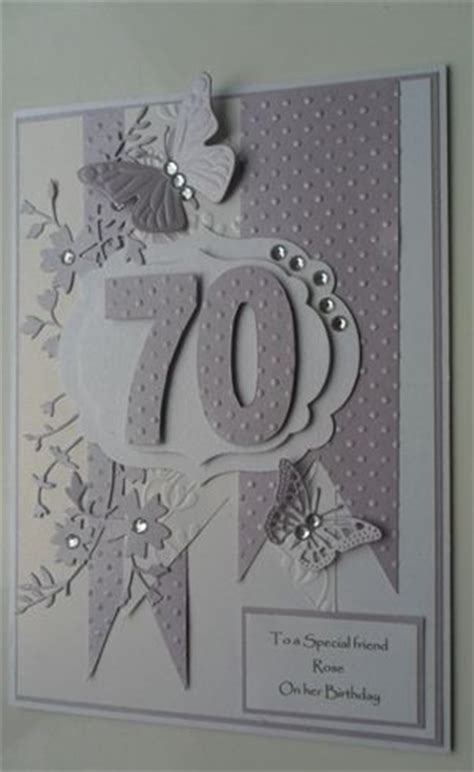 Handmade 70th Birthday Cards - 17 best ideas about special birthday cards on