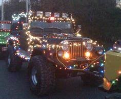 jeep christmas lights christmas jeeps on pinterest