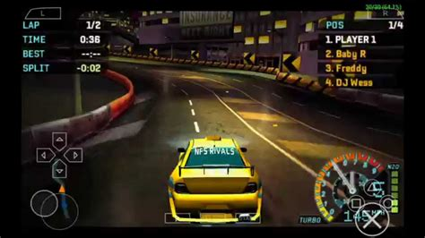 android underground nfs underground rivals psp android basedroid