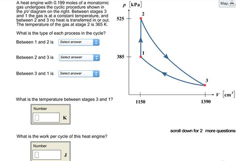 pv diagram heat engine heat engine heat engine questions