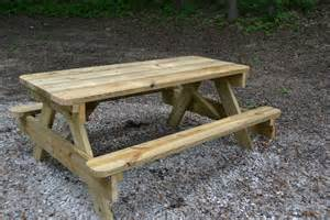Plans For A Picnic Table Bench by Picnic Tables For Sale