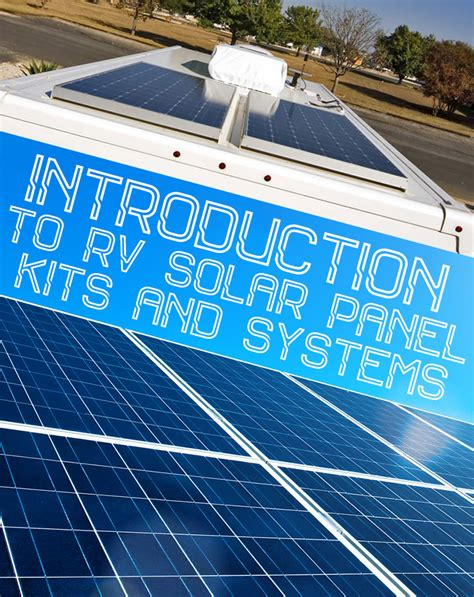 living roof solar system introduction to rv solar panel kits and systems