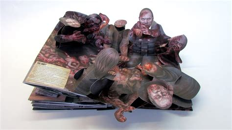 the walking dead the pop up book
