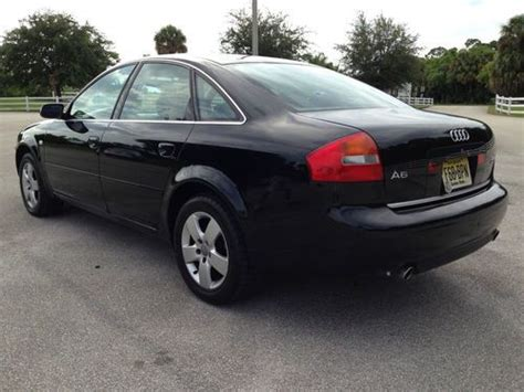 auto air conditioning service 1996 audi a6 transmission control purchase used 2002 audi a6 2 7t quattro automatic black black 02 in port saint lucie florida