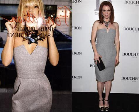 Who Wore It Better 2008 Abaet Dress by Who Wore It Better Kate Moss Vs Julianne