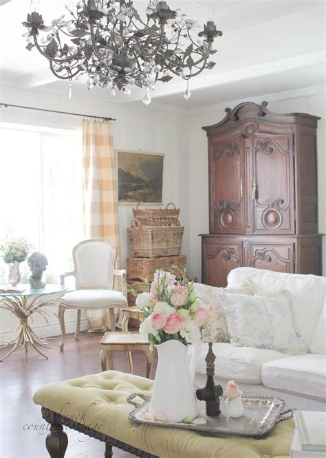 french country livingroom summer living room french country cottage