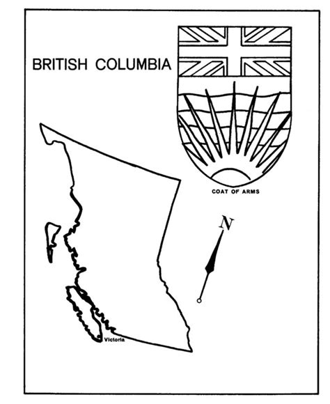 bc map coloring page 17 best images about bc day ideas on pinterest canada