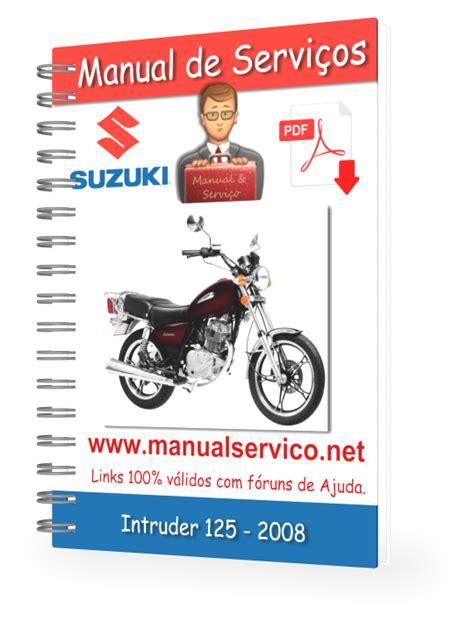 Suzuki Marauder 125 Manual Manual De Servi 231 Os Suzuki Intruder 125 2008 Manual