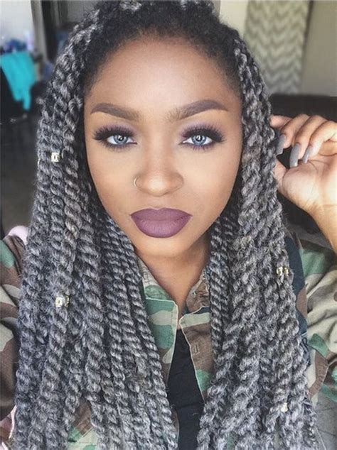gray weaving braiding hair for african american women grey hair colors grey hair and color combinations on