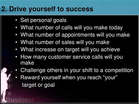 drive yourself how to succeed in telesales