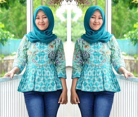 Blouse Batik Cap Pekalongan pilihan lengkap blouse batik cap asli batik pekalongan