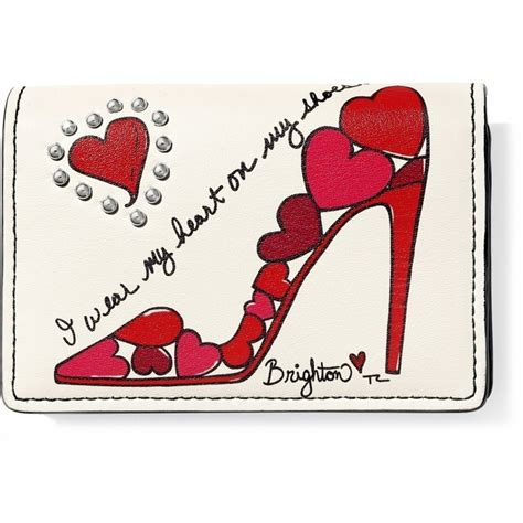 Or Valentines Fashionista Shoe Card Small Collectibles