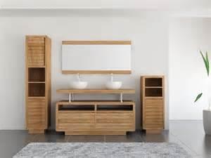 achat vente meuble de salle de bain teck mobilier en