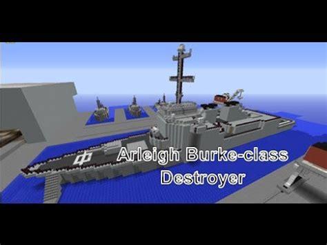 minecraft ww1 boat minecraft naval base destroyer ship youtube