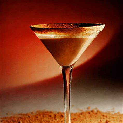 chocolate martini recipes chocolate martini recipe myrecipes