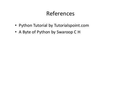 tutorialspoint python 3 python lecture 2