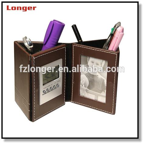 Desk Pen Organizer 2015 pu leather pen cup pen holder pen organizer desk