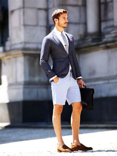 loafers shorts light summer suit with shorts and cognac loafers summer