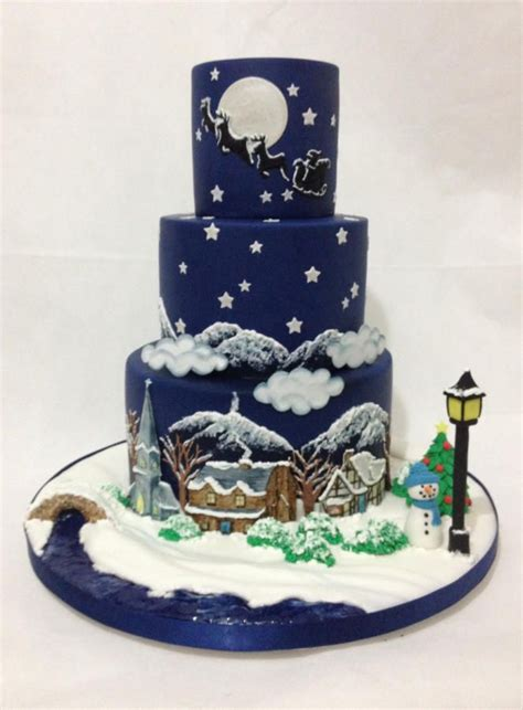 it s christmas for cakes sugarcraft mag by dragons and
