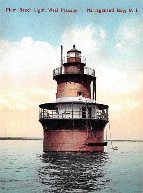 plum beach lighthouse rhode island  lighthousefriendscom