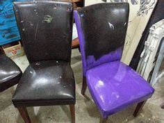 how to paint faux leather 1000 images about painting fabric furniture on