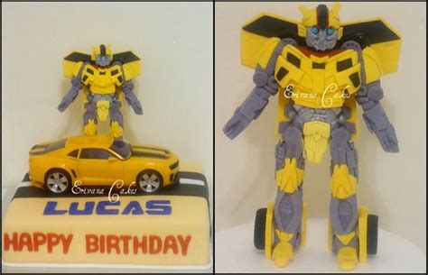 Transformers Bumble Bee Tank Version bumblebee transformer cake 2 1 jpg 1024 215 661
