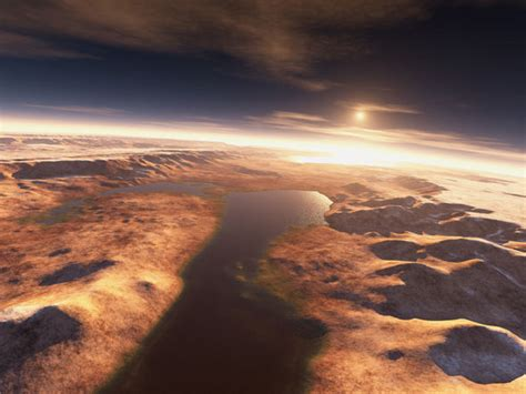 Water was on Mars for hundreds of millions of years ...