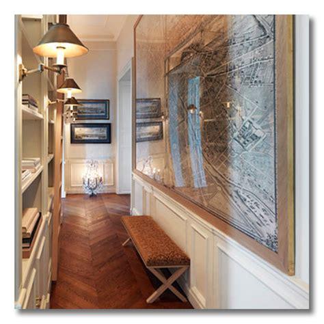 ditto   decorate  narrow entryway fieldstone