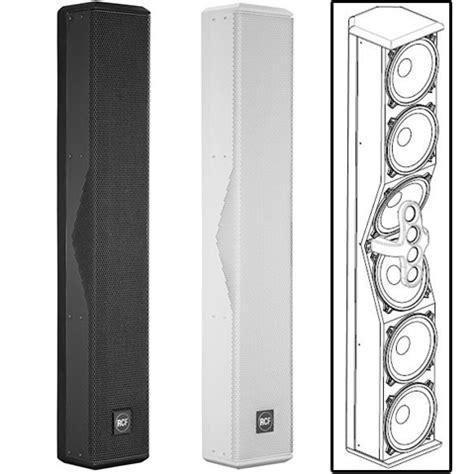 Speaker Column rcf l2406 column loudspeaker commercial audio solutions