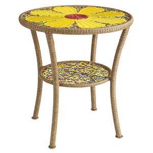 colorful side tables colorful garden side table pier 1 4 jpg