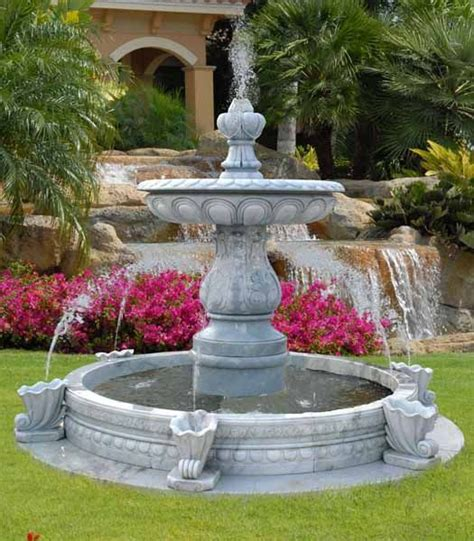 Water Fountains Front Yard And Backyard Designs Fountains For Backyards