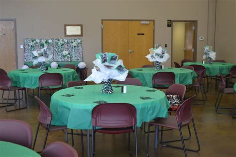 banquet table centerpieces banquet tables with centerpieces of pictures and gifts for